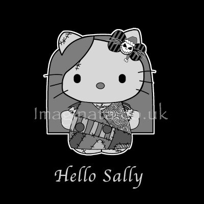 'Hello Sally T-shirt Design' - Digital Painting