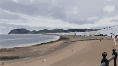 '21 Day Challenge - Landscapes - Day 10' - Digital Painting