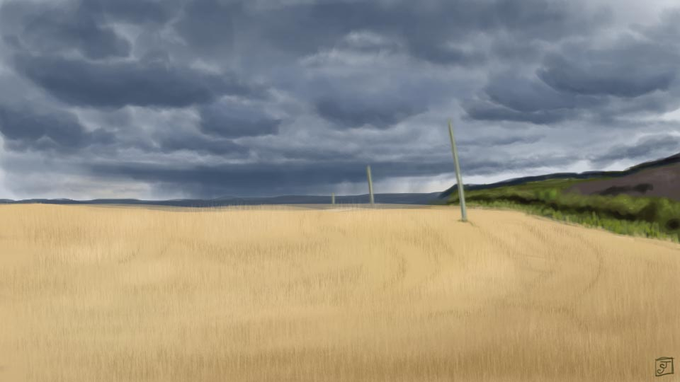 '21 Day Challenge - Landscapes - Day 13' - Digital Painting