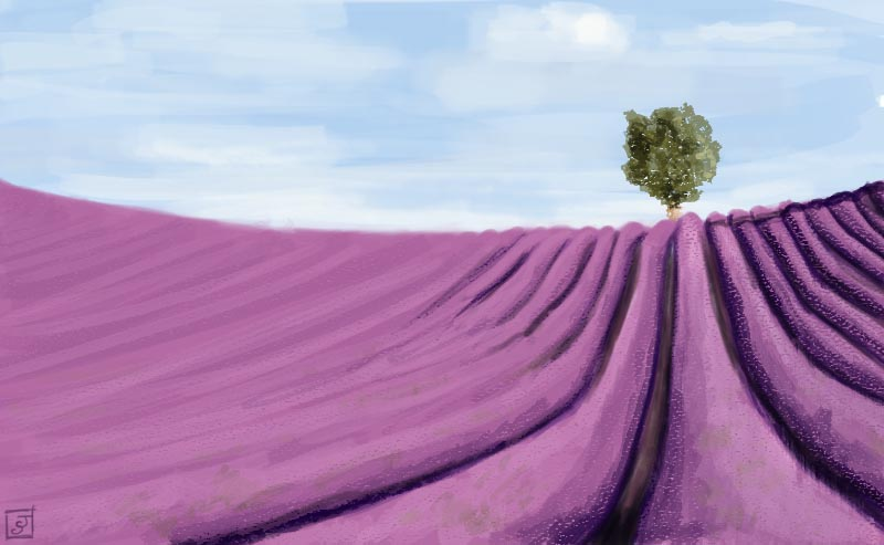 '21 Day Challenge - Landscapes - Day 15' - Digital Painting