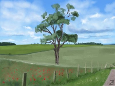 '21 Day Challenge - Landscapes - Day 16' - Digital Painting