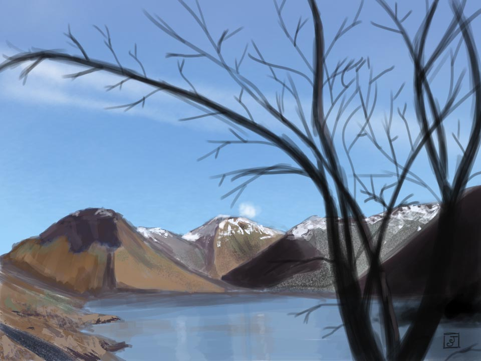 '21 Day Challenge - Landscapes - Day 17' - Digital Painting