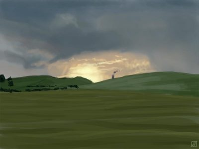 '21 Day Challenge - Landscapes - Day 19' - Digital Painting