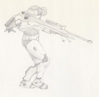 '21 Day Challenge - Miscellaneous - Day 7c' - Pencil