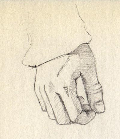 '21 Day Challenge - Miscellaneous - Day 8a' - Pencil