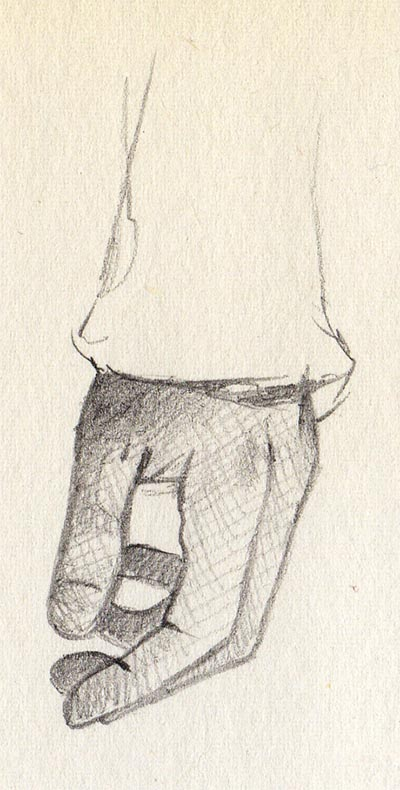 '21 Day Challenge - Miscellaneous - Day 8b' - Pencil