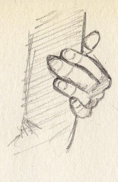 '21 Day Challenge - Miscellaneous - Day 8c' - Pencil