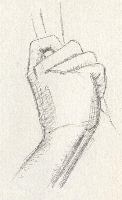 '21 Day Challenge - Miscellaneous - Day 8i' - Pencil